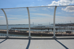 Staten Island Ferry - Chain Link Fence 5