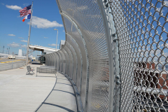Staten Island Ferry - Chain Link Fence