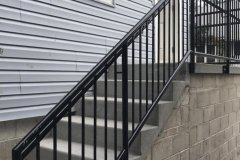 Steel bar fence - residential