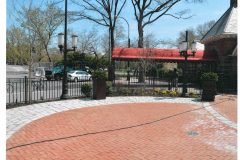 steel bar fence - tavern on the green 5