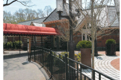 steel bar fence - tavern on the green 6