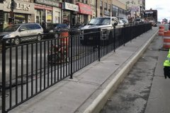 steel bar fence